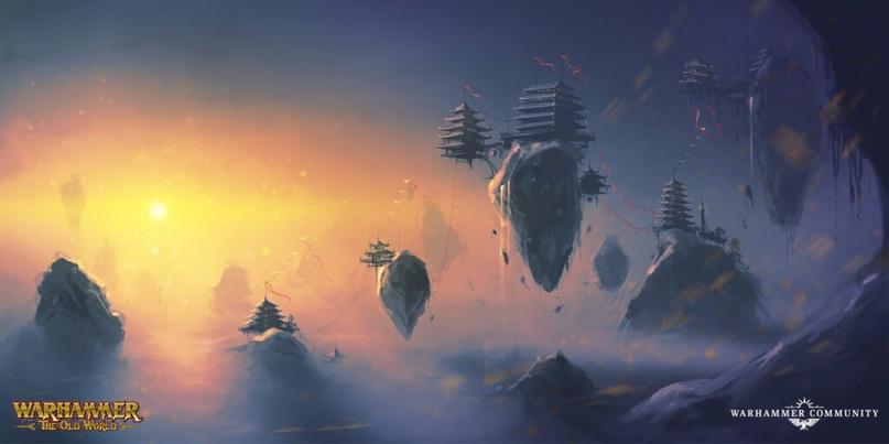 Великий Катай, новый лор Warhammer Fantasy и Total War III, изображение №7