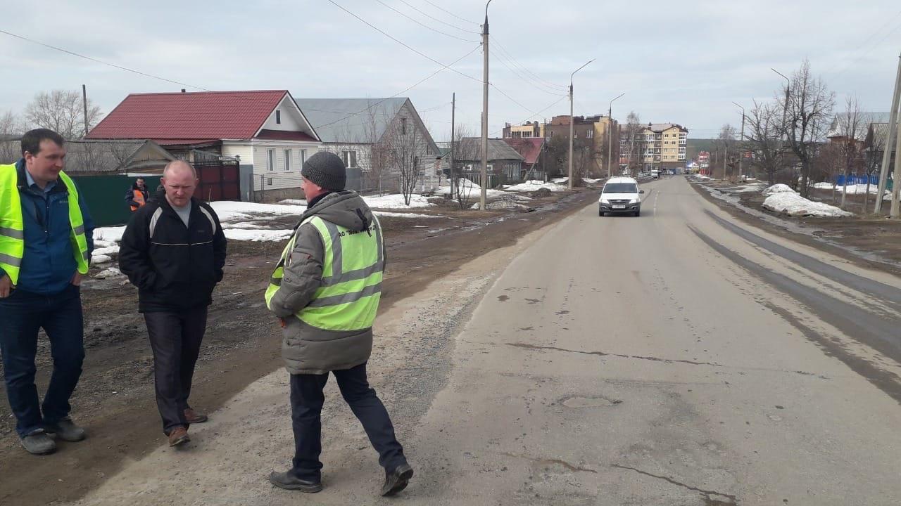 Сегодня комиссия обследовала 11 участков дорог, которые