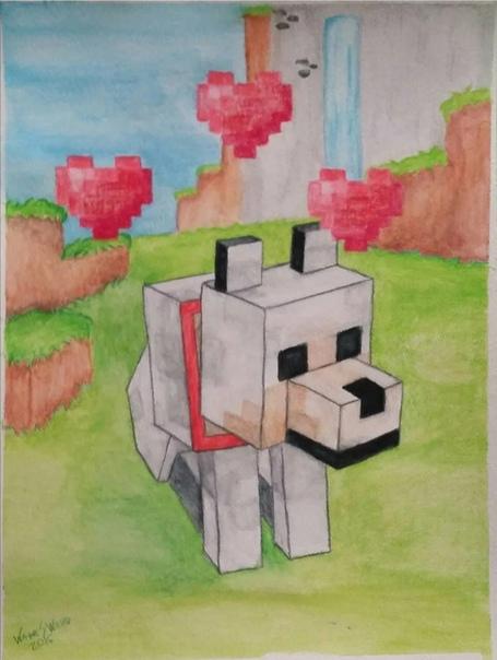смотреть рисунки из майнкрафта #7