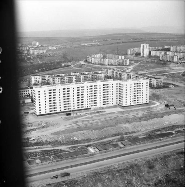 Проспект Победы (аэрофотосъемка)  1982 год Автор: Богданов Борис Иванович