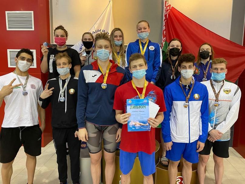 Открытое первенство Республики Беларусь по плаванию, 02.02.2021г., изображение №5