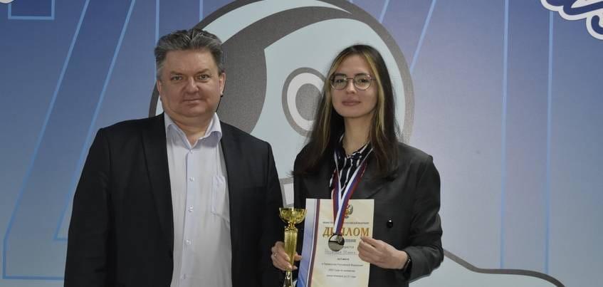 Шахматистка из Ижевска завоевала статус вице-чемпионки России