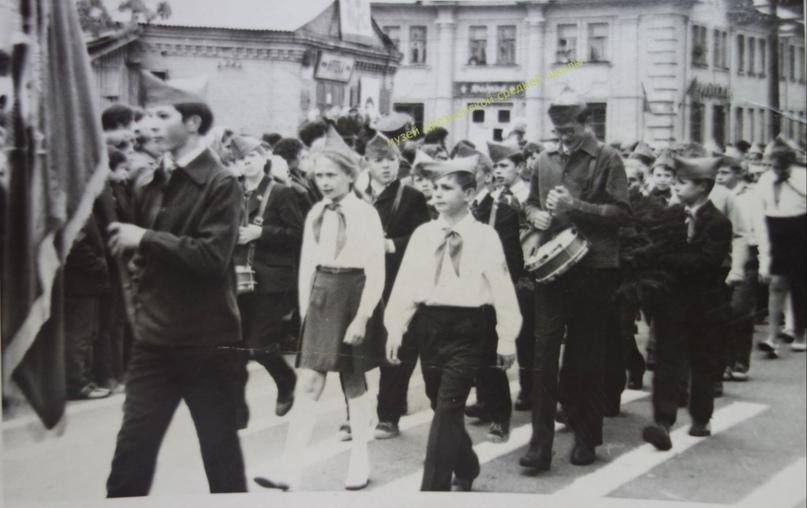 Без даты. Дрезна. День Победы. Музей Дрезненской средней школы