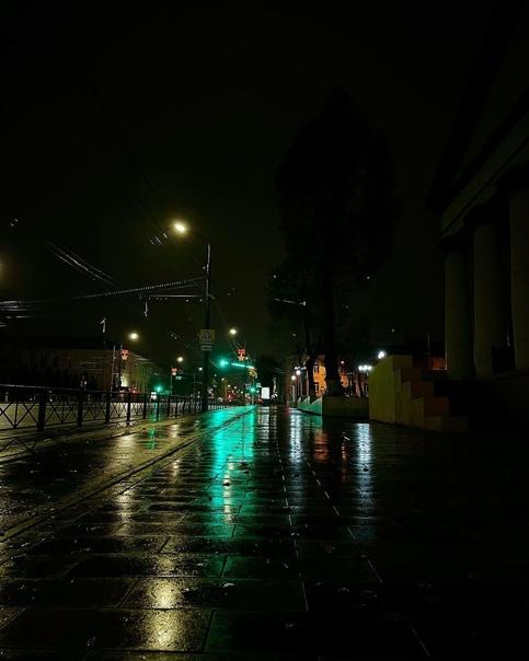 Спокойной ночи, дорогие друзья! ????❤  Дождливый проспект Ленина ☔ ... [читать продолжение]