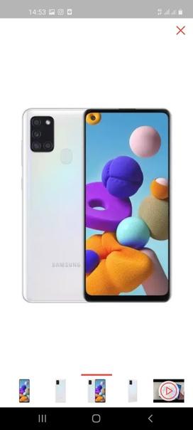 Samsung Galaxy A21s 3/32 ГБ