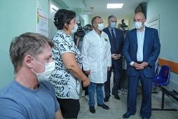 Проблемы пациентов на контроле главы региона (видео)
