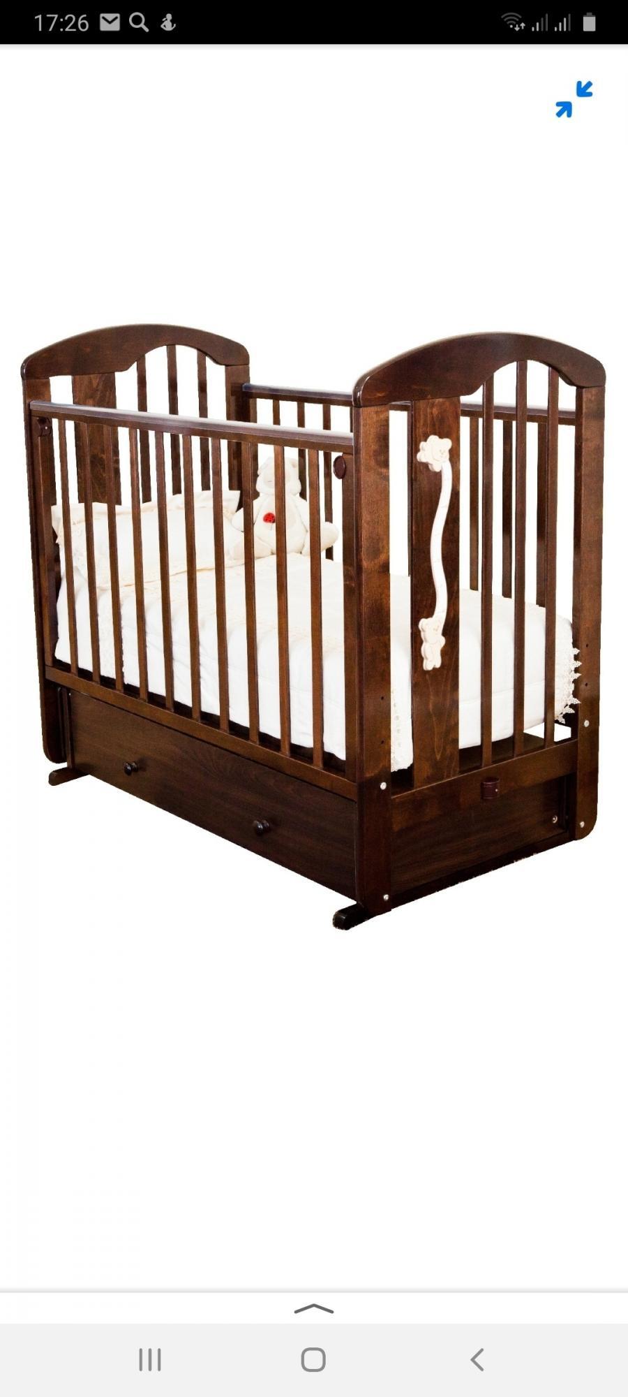 Продается кроватка в идеальном состоянии после одного ребенка, в эксплуатации бы...