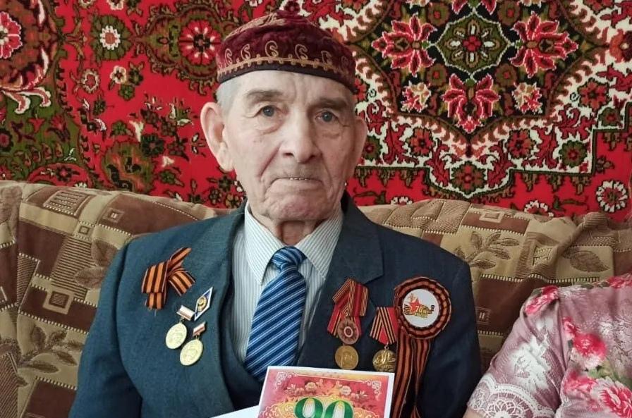 Сегодня юбилейный день рождения - 90-летие отмечает труженик тыла из Петровска Роман Михайлович АБДРЯЕВ