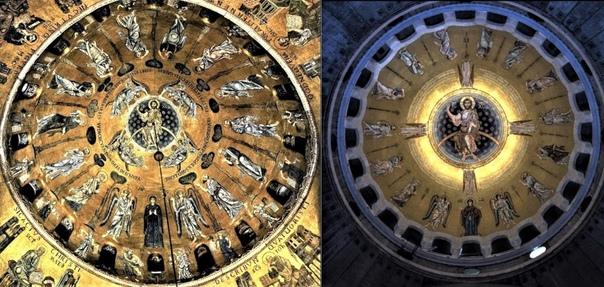 Самая большая мозаика в мире. Храм Святого Саввы, Белград.