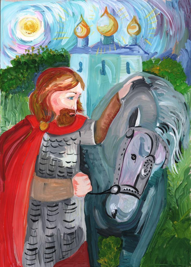 Якутская епархия подвела итоги конкурса «Александр Невский: воин, князь, святой», изображение №4