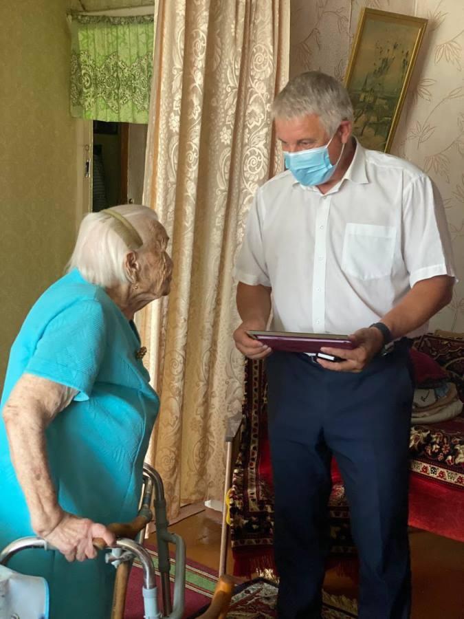 Жительнице Рыбинска исполнилось сто лет