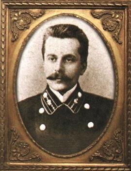 Бабыкин К.Т., заместитель начальника участка службы Пермской железной дороги. Фотография. 1911 г.