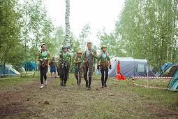 В первой пятёрке – юные спасатели Липецкого района