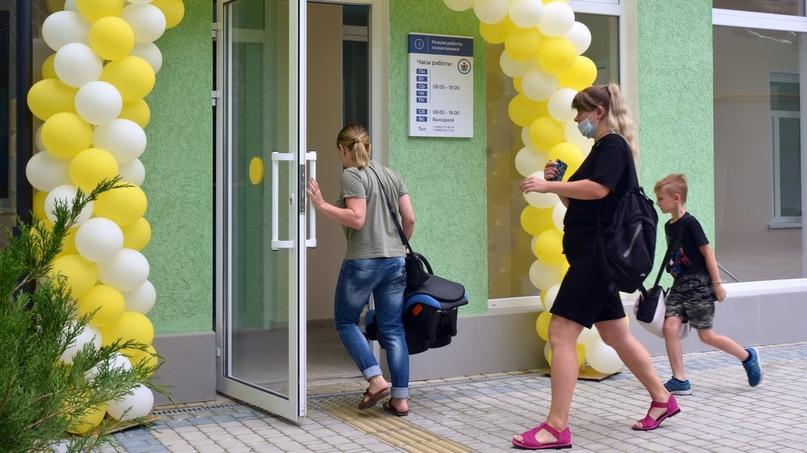 В Симферопольской поликлинике №3 завершён капремонт лечебно-профилактического пе...