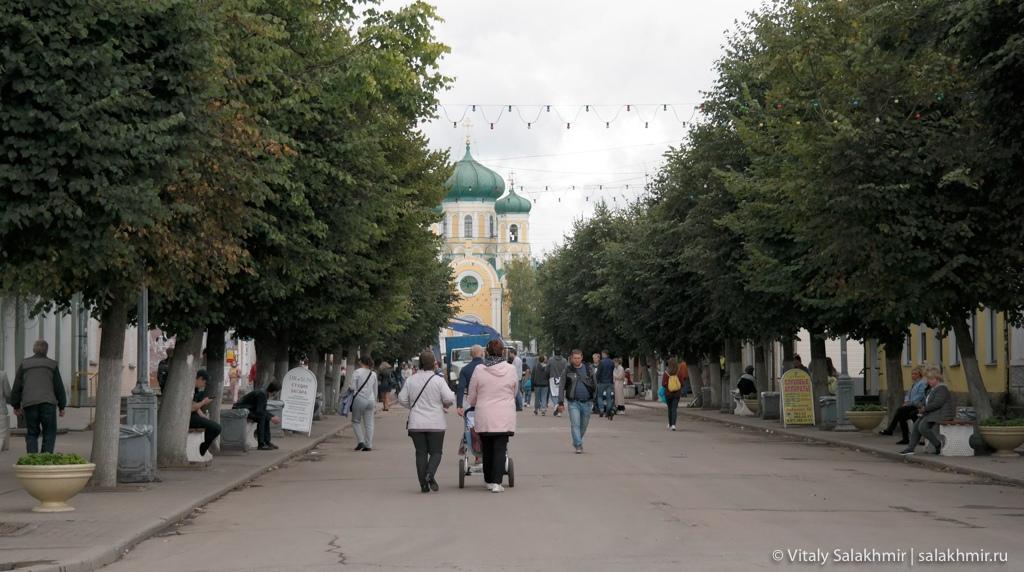 Улица Соборная в Гатчине, 2020