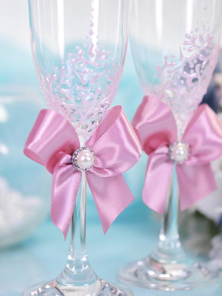 X0Tv39Ps4l8 - Красивые свадебные фужеры