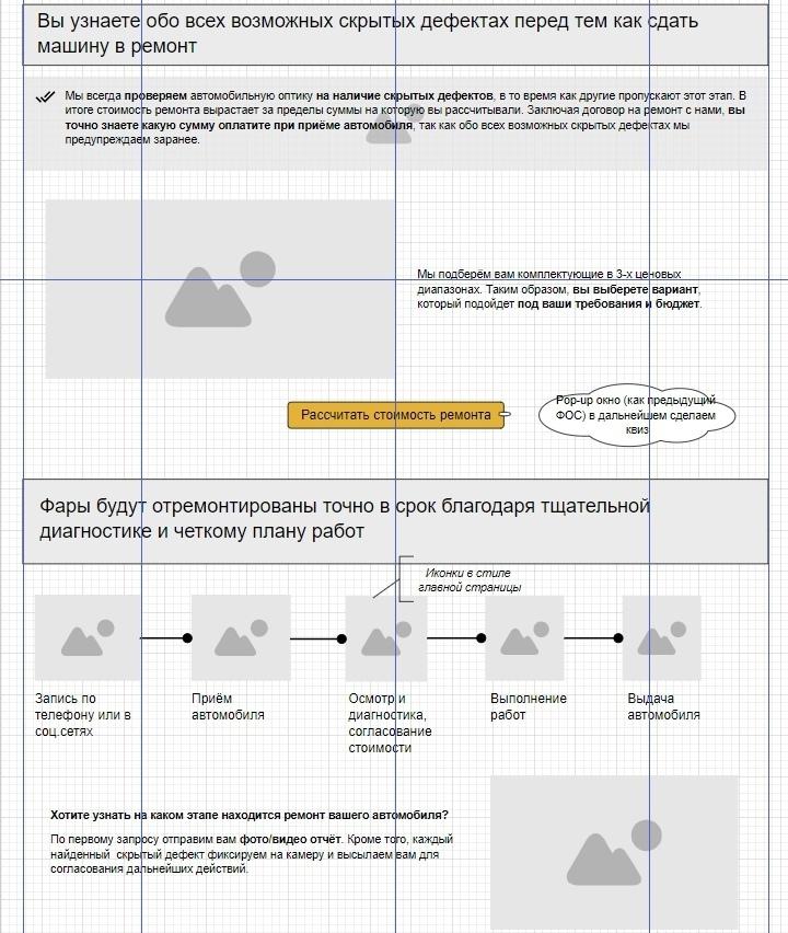 Кейс. Как увеличить конверсию в заявки на 45% за счет нового сайта для студии автосвета, изображение №14