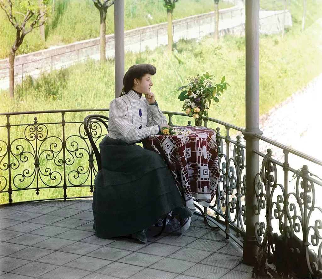 Редчайшие цветные фотографии Российской империи начала XX века BYOT6MV6V3k