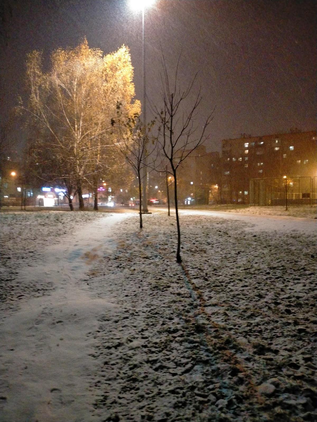 Вот- вот зима.