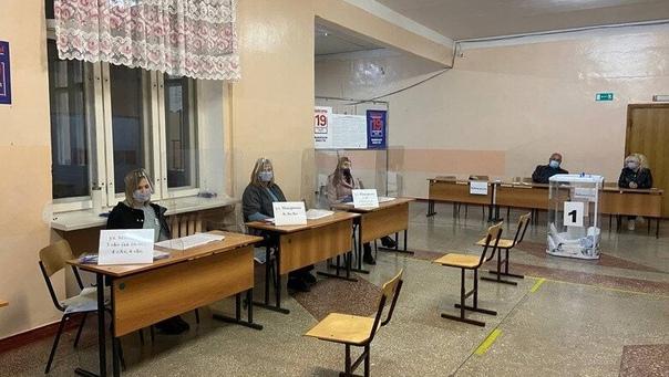 Как проходят выборы вшколе наКрейде вБелгородеК...