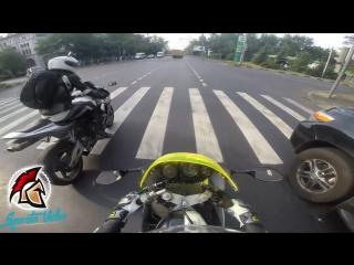 Moto crash [sparta video]