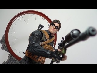 Marvel Select Winter Soldier Disney Store Exclusive Figure Review