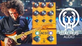 Three Amps, Six Cabs, Pedal Platform & Lush Tones!   Walrus Audio ACS1