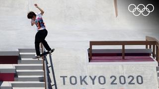 Скейтбординг 🛹: японец Оригоме стал первым в истории олимпийским чемпионом