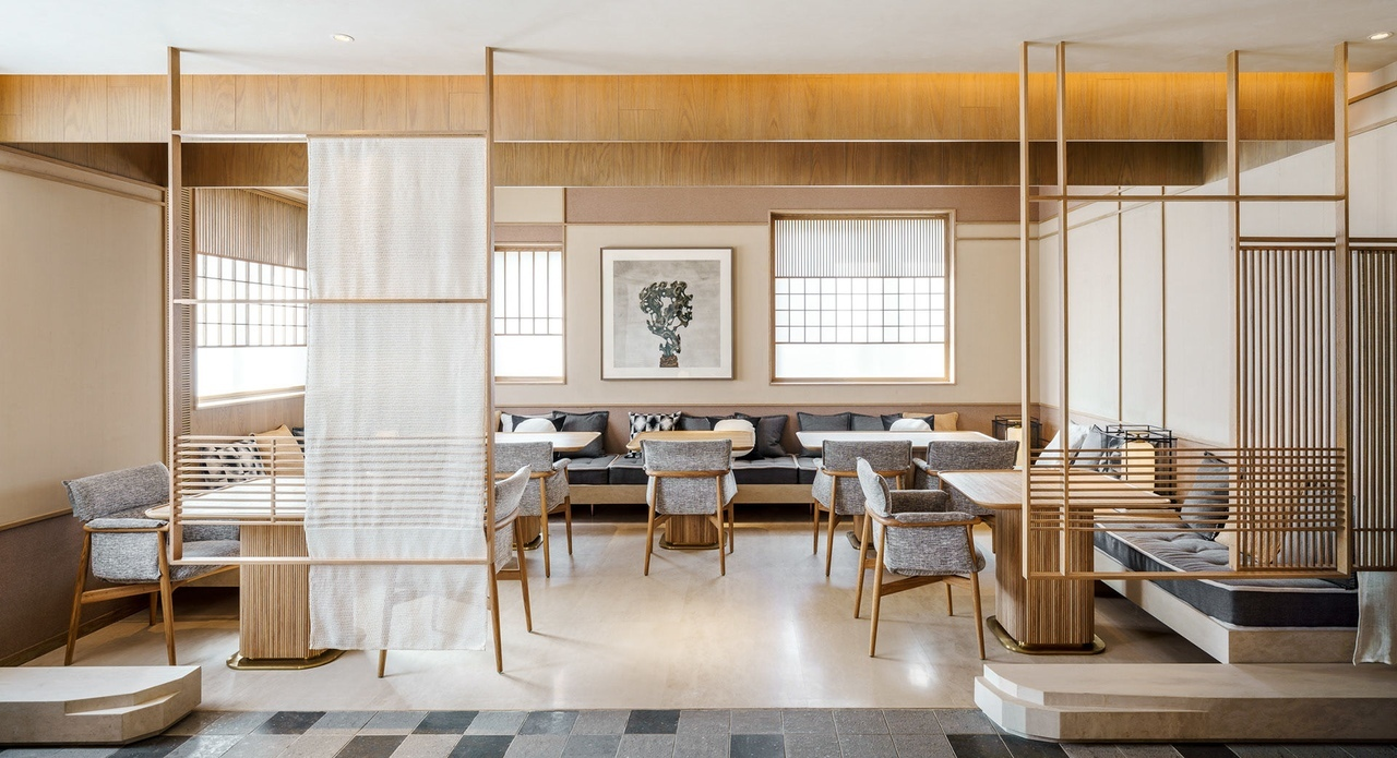 Japanese Lounge at Base Anfu by Mike McGirr, Seth Powers