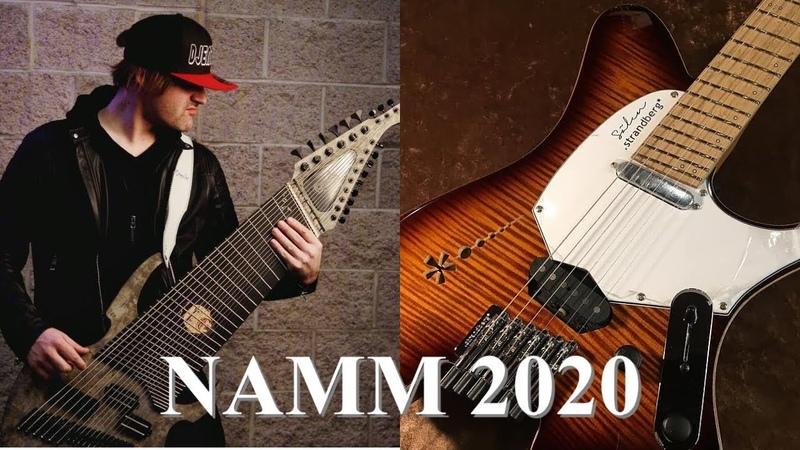 Strandberg гитары, Jared Dines (и много ещё чего). NAMM2020