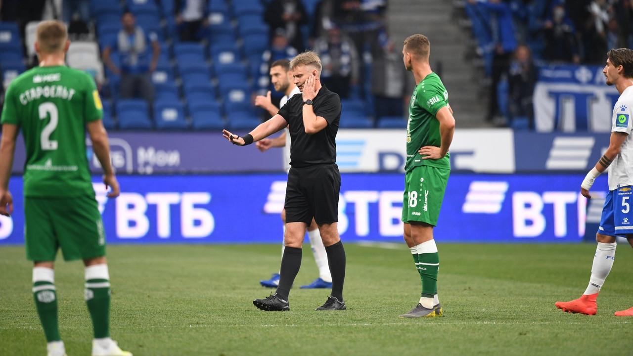 Динамо - Рубин, 0:1. Арбитр Сергей Лапочкин