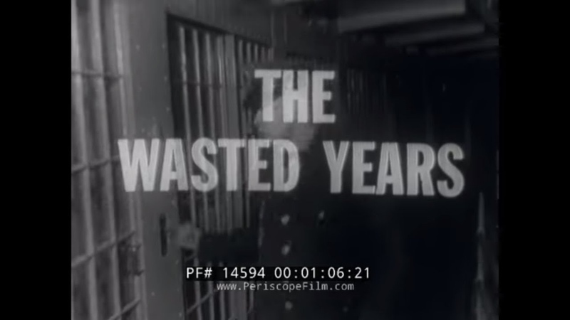 THE WASTED YEARS 1960s STATEVILLE PRISON DOCUMENTARY ILLINOIS PRISON SYSTEM PENITENTIARY 14594