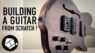 Custom Guitar Build from scratch (NO SHELF this time)