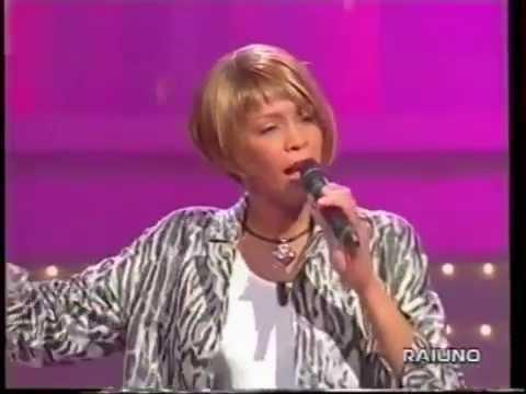 Whitney Houston It's Not Right But It's Okay Live Gianni Morandi 1999 Rai