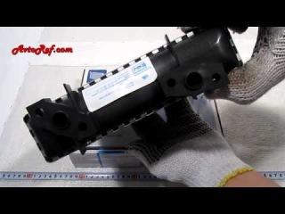 Радиатор отопителя (печки) алюминиевый на ВАЗ 2104-2107, 2105-8101060, Лузар (Luzar)