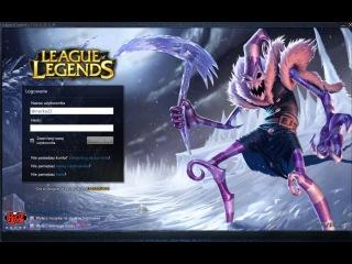 League of Legends - Dark Candy Fiddlestick Login Screen and Music HD
