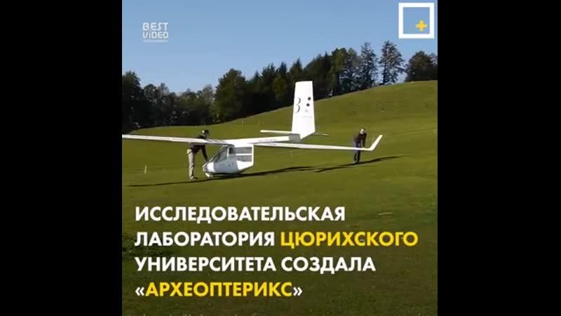 Археоптерикс – планер, который позволяет взлететь от разбега