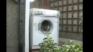 кирпич + стиральная машинка Шо же будет?