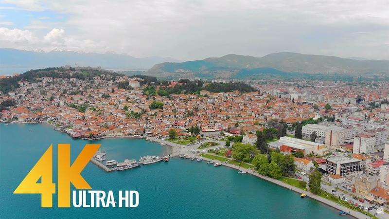 4K Lake Ohrid, Macedonia - Relax Video - Short Travel Guide/Travel Journal