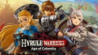 [18+] Шон играет в Hyrule Warriors: Age of Calamity (Switch, 2020)