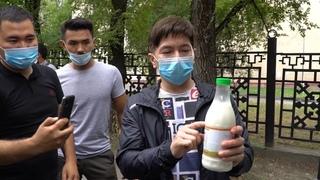 Сәкен Майғазиев 1 тонна қымыз таратты. Ернар Айдар сахнаға қайта оралды