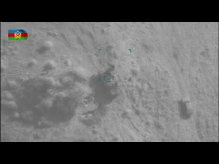 Минобороны публикует кадры уничтожения точным огнем зенитную установку ВС Армении М-55