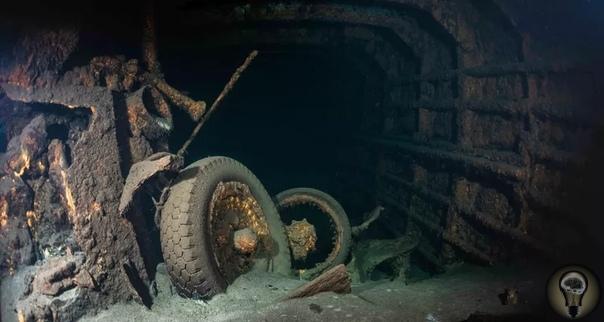 Обнаружен затонувший корабль, на котором может быть Янтарная комната Польские водолазы обнаружили немецкий корабль, затонувший в конце Второй мировой войны. Эта находка может помочь раскрыть
