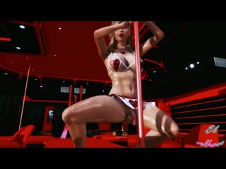 Shemale Stripper sexy dance [FutaHeaven]   futanari hentai futa porn футанари фута порно