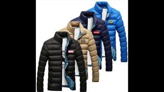 Европейский и американский бренд, мужская парка с принтом, дизайнерский, с хлопковой подкладкой, зимняя теплая куртка, мужская,