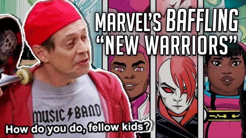 HOW DO YOU DO FELLOW KIDS Marvel's baffling New New Warriors