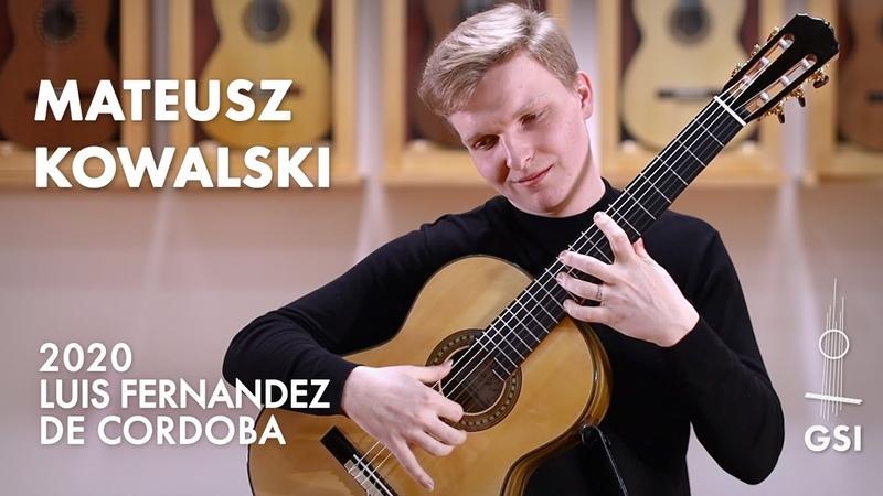 Agustín Barrios' Contemplación played by Mateusz Kowalski on a 2020 Luis Fernandez de Cordoba