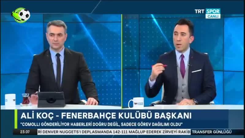Fenerbahçe Transfer Günlüğü Ali Koçun Transfer Hedefleri Trtspor