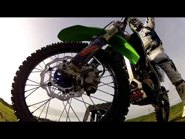 Motocross : Damien Prévot - Mx ploz Vidéos. 2013