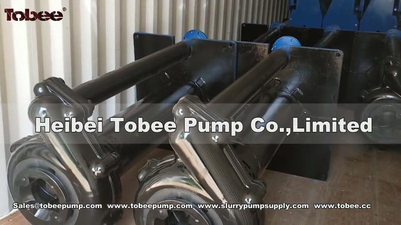 Loading EPDMEthylene Propylene Diene Monomer Rubber Vertical Pump 100 RV SPR L , Submerged depth 18